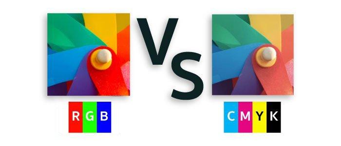Sự khác biệt giữa RGB và CMYK là gì?